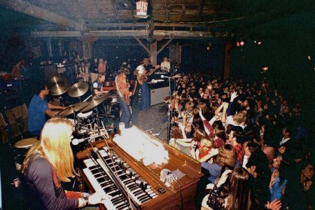 Allman Brothers and Crowd at The Warehouse