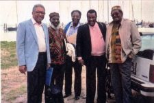 American Jazz Quintet group photo from 1987