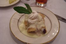 Bread pudding at Dooky Chase.