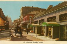 Al Hirt's on Bourbon Street postcard circa 1970.