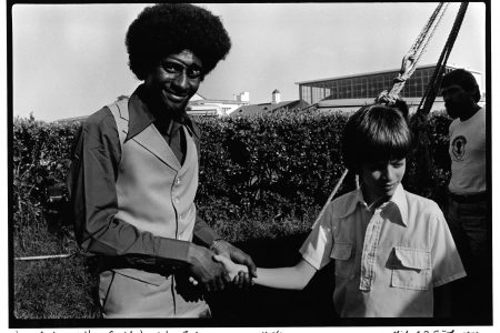 James Booker and Harry Connick Jr. at Jazz Fest