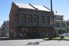 The French Quarter building that housed J&M Music Shop and Studio.