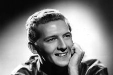 Publicity photo of Jerry Lee Lewis, who, at age 16 in 1952, cut his first demo at J&M Studio.