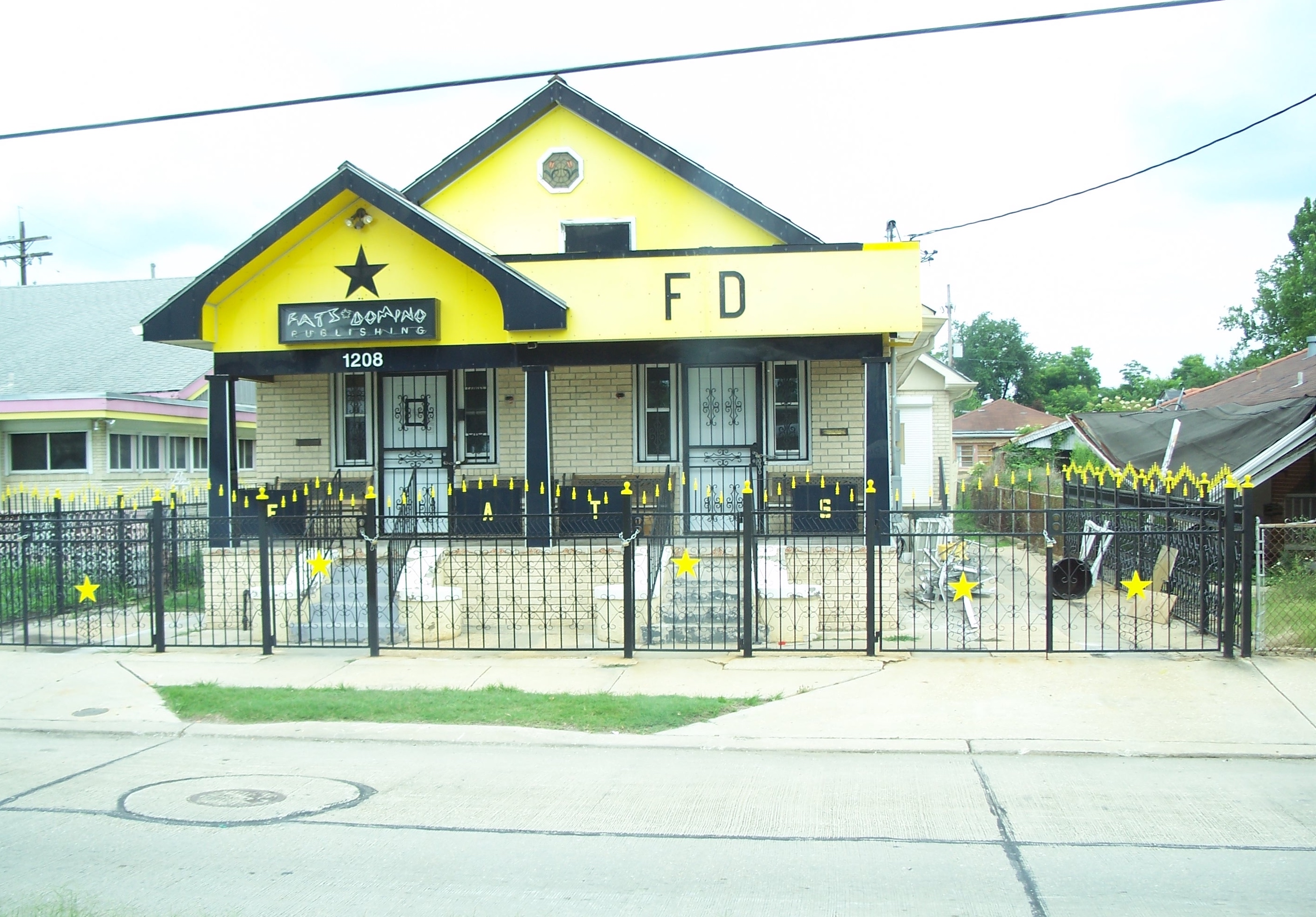Fats Domino\'s House - New Orleans Music Map