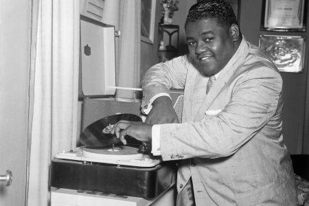 "Antoine ""Fats"" Domino (b. 1928), August 8, 1957."