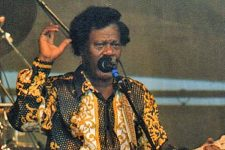 Earl King at Jazz Fest 1997.
