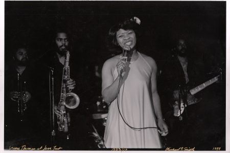 Irma Thomas on stage.