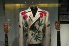 Parsons' suit at the Country Music Hall of Fame in Nashville in 2008.