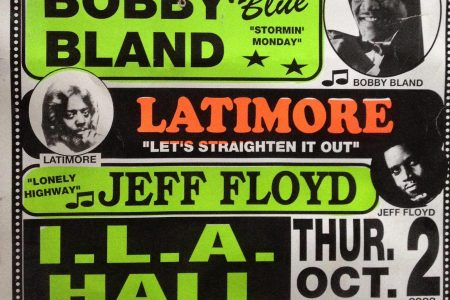 ILA Hall concert poster from 2003.