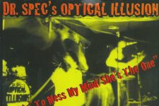 Dr. Spec's Optical Illusion .45 reissue cover.