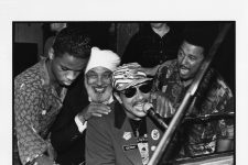 Davell Crawford, Eddie Bo, Art Neville, and Willie Tee at Piano Night at Tipitina's in 1991.