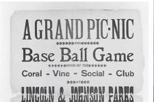 1904 handbill for a picnic at Lincoln and Johnson Parks featuring John Robichaux's Orchestra.