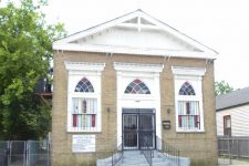 Site of Francs Amis Hall, now the Genesis Missionary Baptist Church.