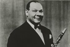Sidney Bechet (1897-1959) at Cabaret Chez Florence, Paris, in 1928, at the height of popularity.