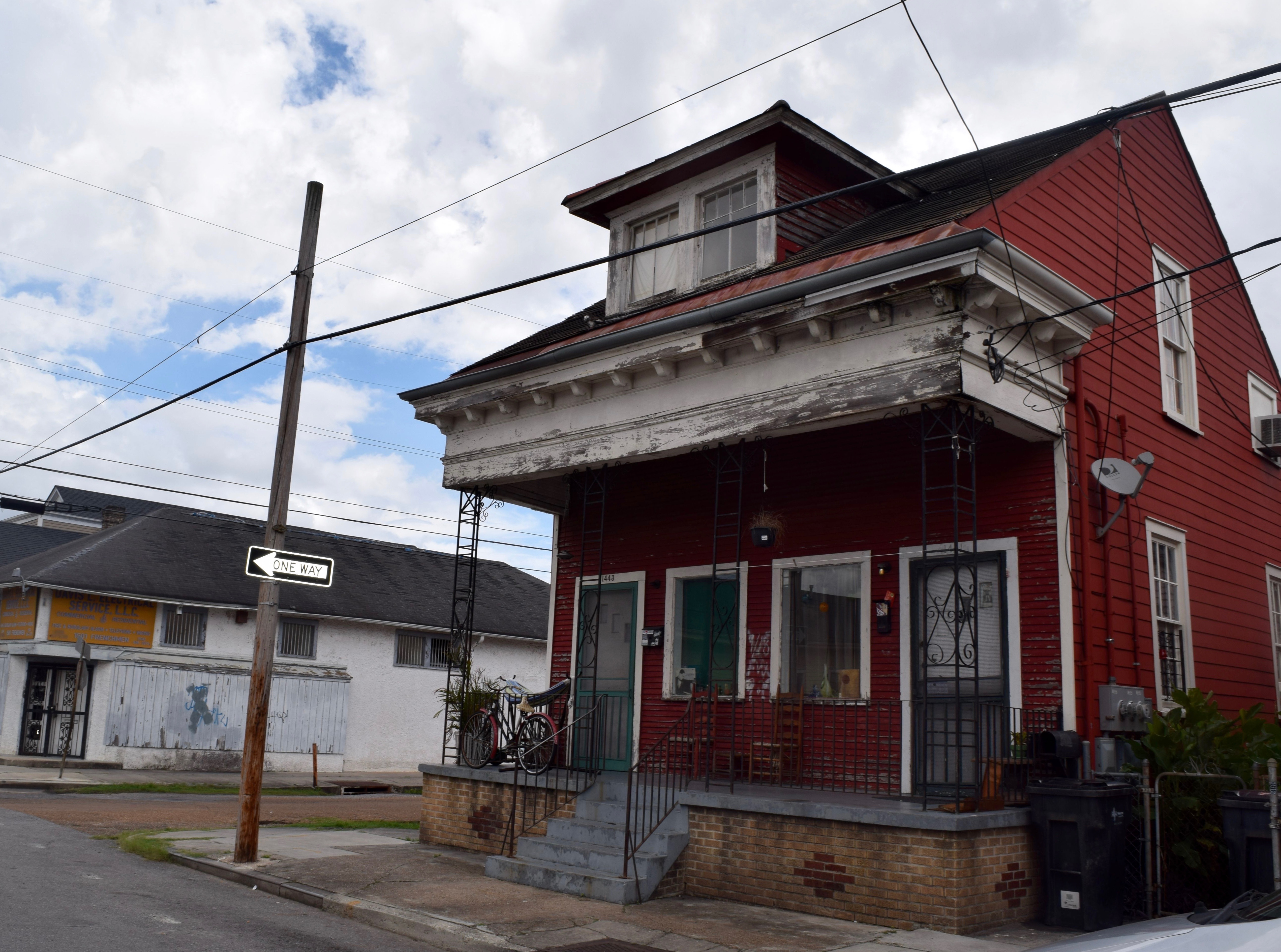 Jelly Roll Morton S House New Orleans Music Map