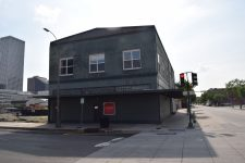 The former home of the Red Onion shortly before demolition in 2016.