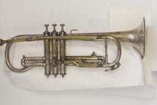 Louis Armstrong's first cornet.