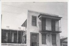 Papa Jack Laine's house.