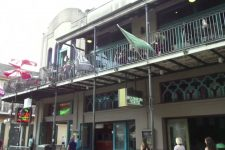 Site of Al Hirt's club on Bourbon Street in 2016.