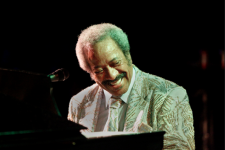 Allen Toussaint performs at the Ponderosa Stomp in New Orleans on September 17, 2011.