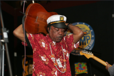 Irving Bannister performs at the Ponderosa Stomp in New Orleans on May 27, 2005.