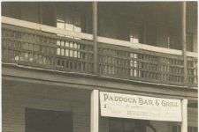 The Paddock Bar & Grill, which tempted patrons with a revolving stage and fried chicken.