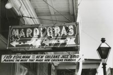 Sign for the Mardi Gras Lounge, 1953.