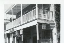 The Paddock Lounge circa 1968. Note the sign claiming