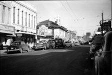 South Rampart Street in 1949, not far from the Downbeat Club.