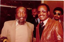 AlTaylor with comedian and civil rights activist Dick Gregory.