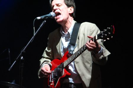 Alex Chilton fronting a Big Star reunion show in London in 2009.