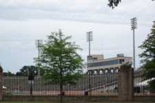 Tad Gormley Stadium (formerly City Park Stadium) in 2011.