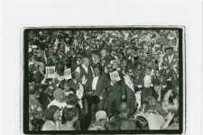 Danny Barker's funeral, 1994. The event would inspire the formation of the Black Men of Labor Social Aid & Pleasure Club.