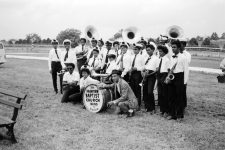 Fairview Baptist Church Band with Danny Barker, 1972.