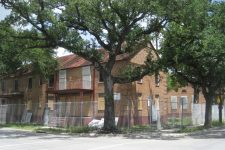 The Lafitte projects just prior to demolition in 2008.