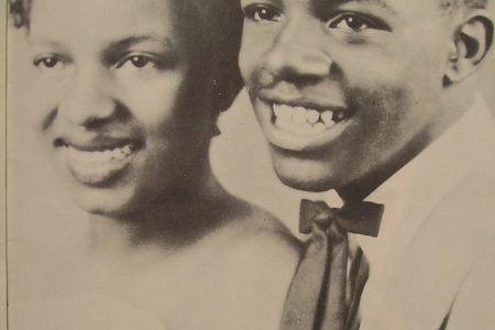 "Shirley and Lee, ""two young songstars"" from Clark High School who became a national sensation in the 1950s."