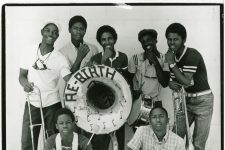 The Rebirth Brass Band (then called Rebirth Jazz Band) in 1984, shortly after Philip Frazier organized some of his classmates at Clark High School.