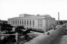 The Municipal Auditorium in the 1930s.