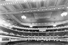 View from the Municipal Auditorium stage in the 1940s.