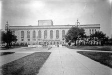 Municipal Auditorium exterior ca. 1932.