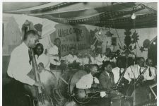 Sidney Desvigne's band--one of the best in town--at the New Gypsy Tea Room in 1941.