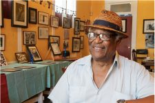 Al Jackson, co-founder of Treme's Petit Jazz Museum.