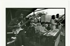 Willie Tee and the Gaturs performing at Jazz Fest in 1973.