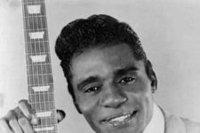 Publicly photo of the massively influential Guitar Slim, born Eddie Jones (1926 - 1959).